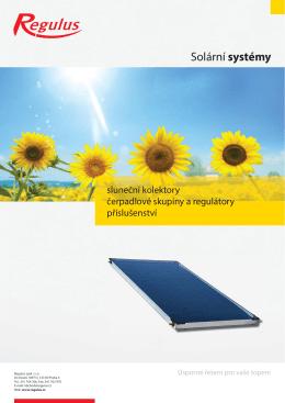 Solární systémy - prima