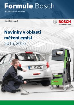 Formule Bosch 2015/2016