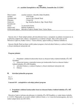 zápis a usnesení 06/2015 (PDF 109kB)