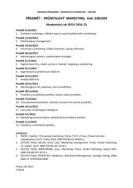 PM-Program přednášek, 2015/2016
