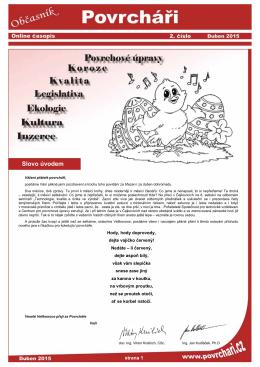 Slovo úvodem - Povrcháři.cz