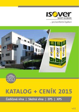 Katalog + ceníK 2015