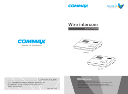 Wire intercom