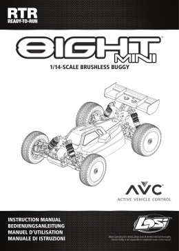 Mini 8IGHT 4WD Buggy Manual – English