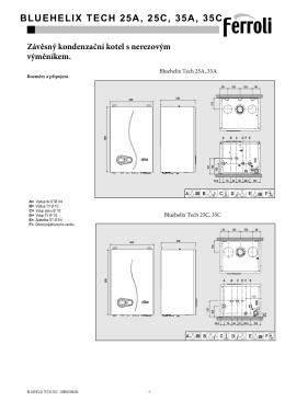 Projekční podklady Bluehelix Tech
