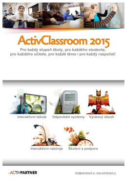 ActivClassroom 2015