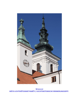 Pro zobrazení klikni zde - Česko-lichtenštejnská komise historiků