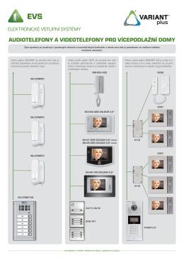 komplexní řešení elektronických systémů budov