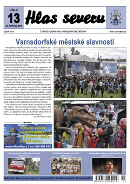 Varnsdorfské městské slavnosti
