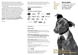 59. koncertní sezona 2014 2015 Slavná pětka