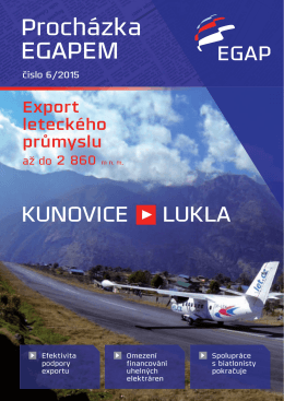 Časopis EGAP 6/2015