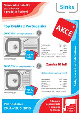 Top nabídka Sinks pro živnostníky 2015