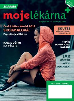Magazín MOJE LÉKÁRNA září