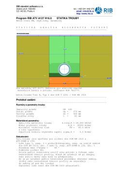 RIB stavební software s.r.o. Zelený pruh 1560/99 tel.: +420 241 442