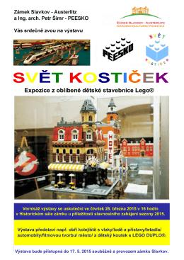 Tisk Lego Slavkov
