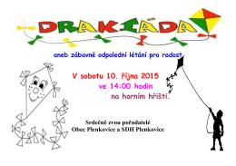 plakát drakiáda 2015