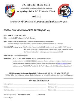 informace - 33. základní škola Plzeň