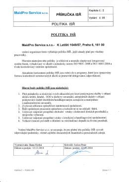 pŘínučm lsŘ - MaidPro Service