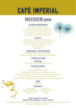SILVESTR 2015