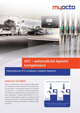 ATC – automatická teplotní kompenzace