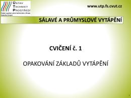 SPV_cv_1_2015_Opakování základů vytápění