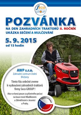 Pozvánka ve formátu PDF