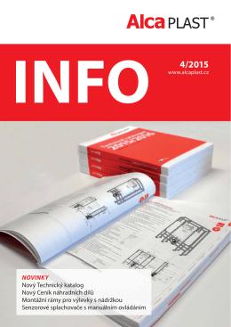 INFO 4/2015 - Alca plast, sro