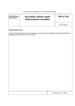 Rozváděče nízkého napětí - Elektroměrové rozváděče