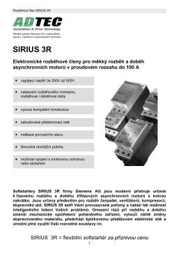 SIRIUS 3R - ADTEC sro