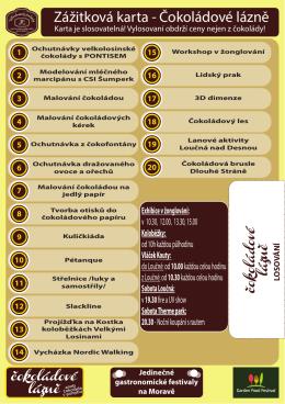 ZDE - Čokoládové lázně