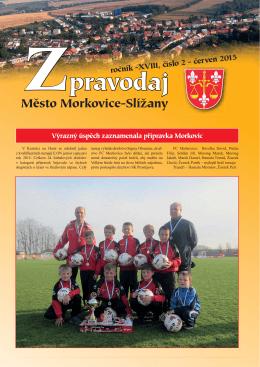 Zpravodaj - Město Morkovice