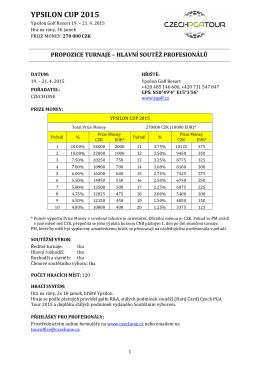 Propozice - Ypsilon 2015 PRO hlavní CZ