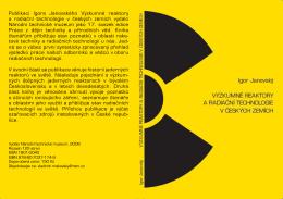 Výzkumné reaktory a radiační technologie v českých zemích