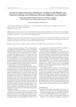 Obsah článku v PDF - Acta rerum naturalium