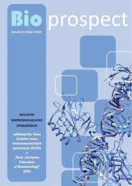 novém čísle Bioprospektu (4/2015)