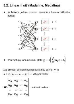 lineární síť