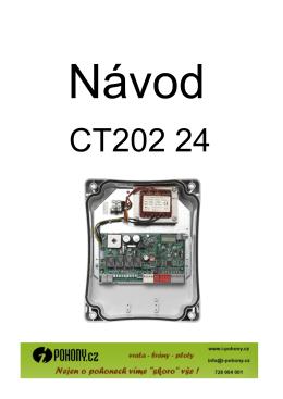 Manuál - jednotka CT20224 - i