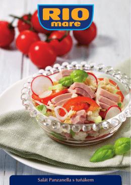 Salát Panzanella s tuňákem