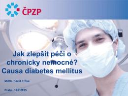 prezentace MUDr. Pavla Frňky, DMS