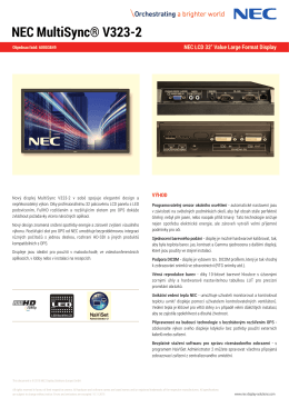 Stahnout - NEC Display Solutions Europe