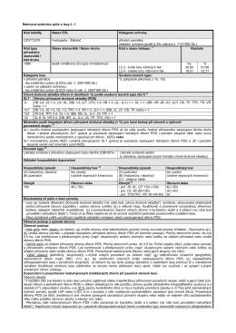 Rámcová směrnice péče o lesy č. 1 Kód lokality Název EVL