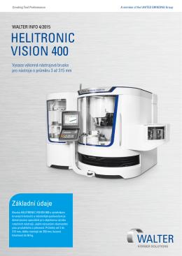 HELITRONIC VISION 400 - WALTER Maschinenbau GmbH