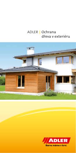 ADLER | Ochrana dřeva v exteriéru