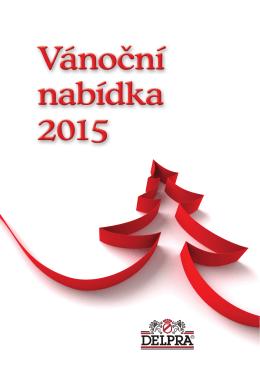 Vánoční nabídka 2015