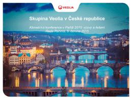 Reda Rahma, marketingový a obchodní ředitel Veolia pro Českou a