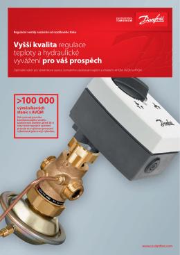 Regulační ventily nezávislé od rozdílového tlaku