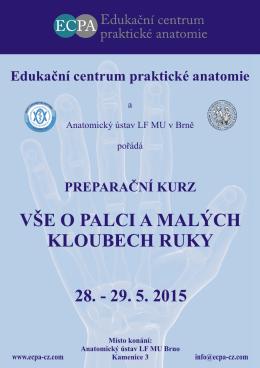 Palec 2015 - Edukační centrum praktické anatomie