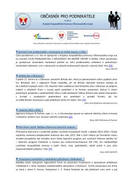 4/2015 - Okresní hospodářská komora v Prostějově