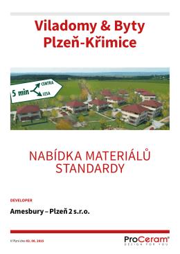 Viladomy & Byty Plzeň-Křimice - AMESBURY