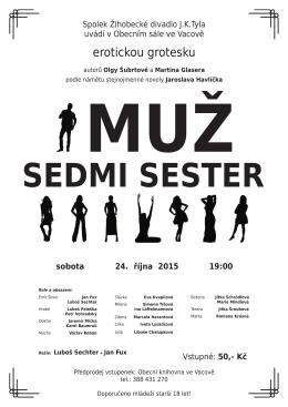 Divadelní představení 24.10.2015 ve Vacově